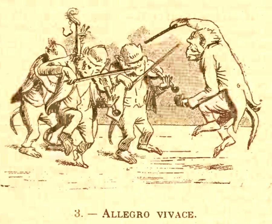 GAZETA ARTELOR 1903 3 Allegro vivace