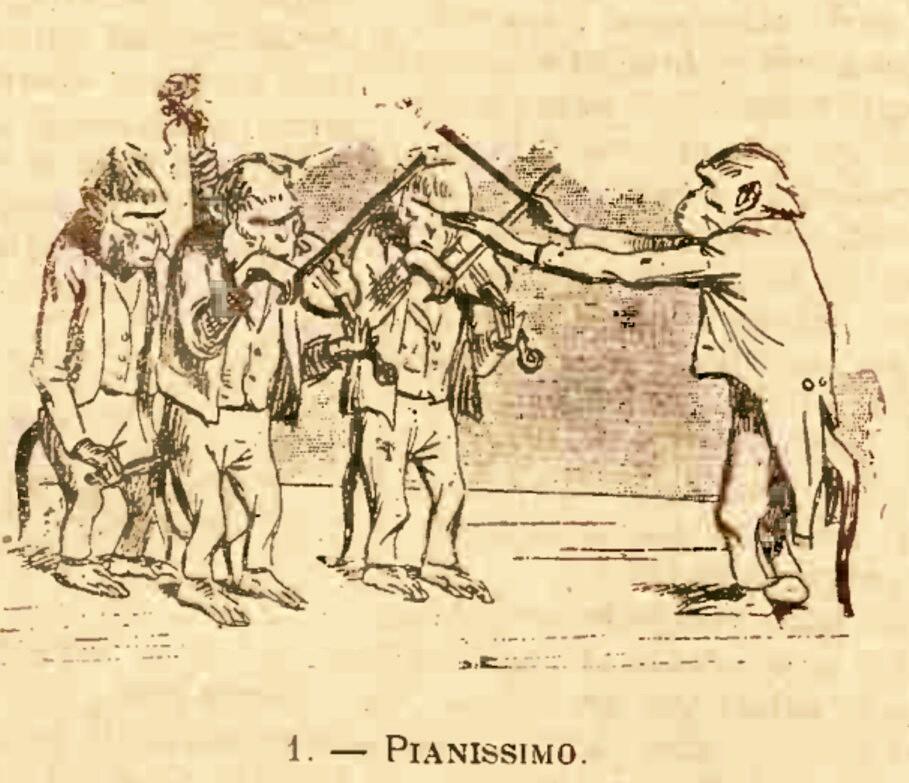 GAZETA ARTELOR 1903 Pianissimo