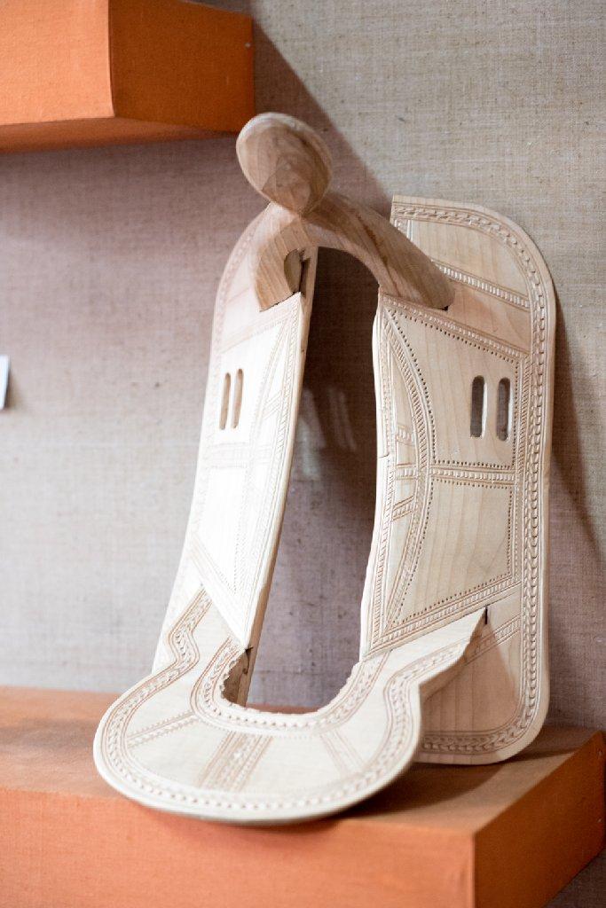 Şea huţănească din lemn - foto Gabriel Sandu