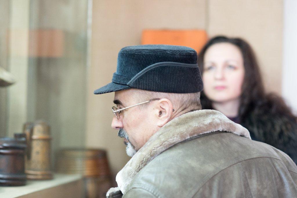 Tiberiu Cosovan, întotdeauna cu noi - foto Gabriel Sandu