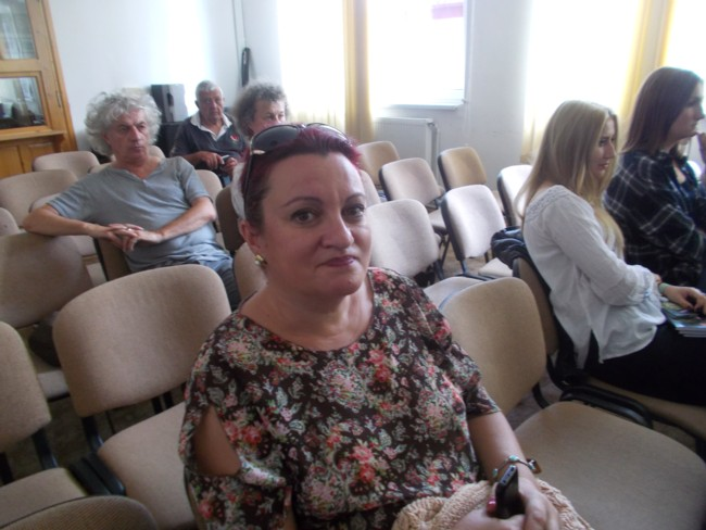 Gabi Havriliuc la Biblioteca Bucovinei