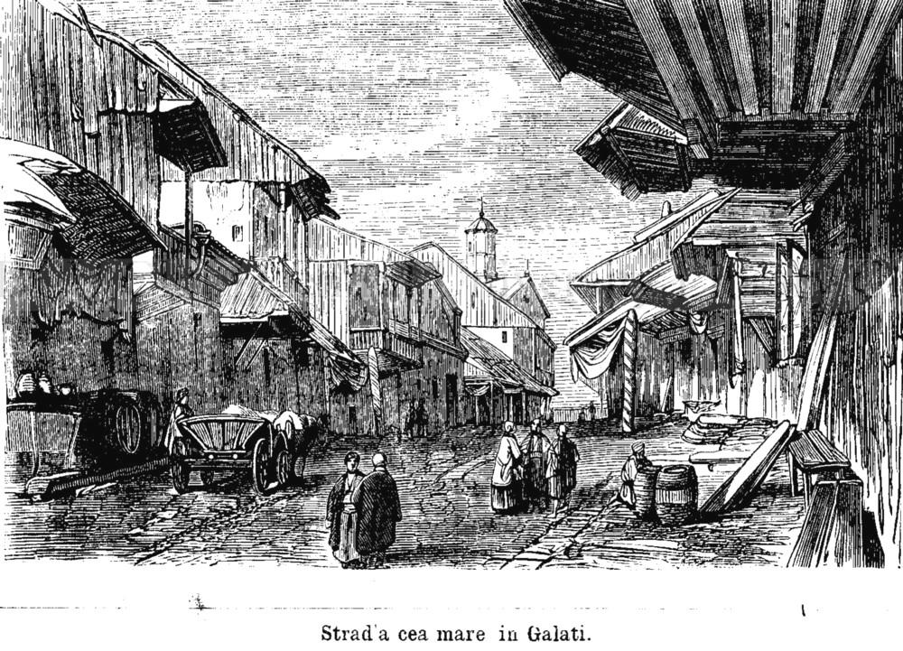 Galati Strada Mare Familia 21 din 1866