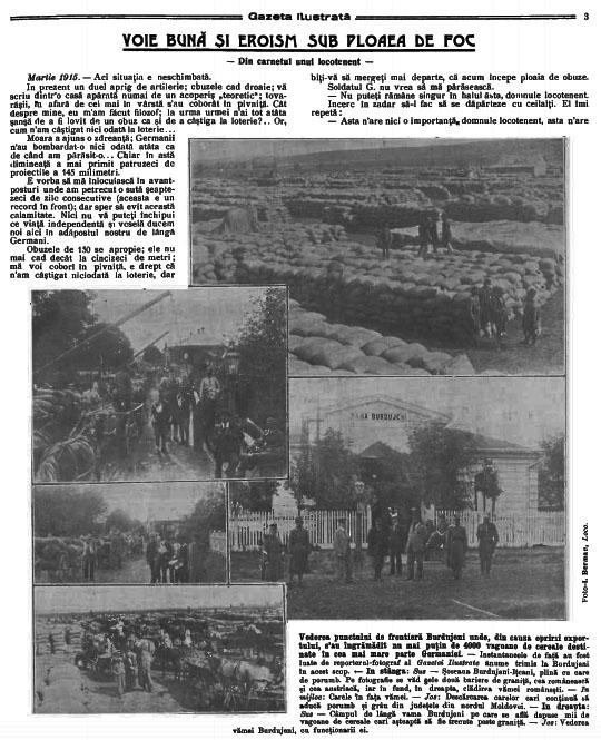 Gazeta Ilustrata 1915 martie 14