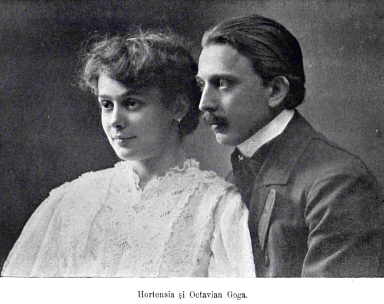 Goga Hortensia si Octavian LUCEAFARUL n 17 18 1906 p 387