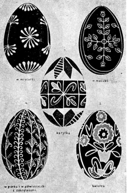 Ouă încondeiate în Polonia