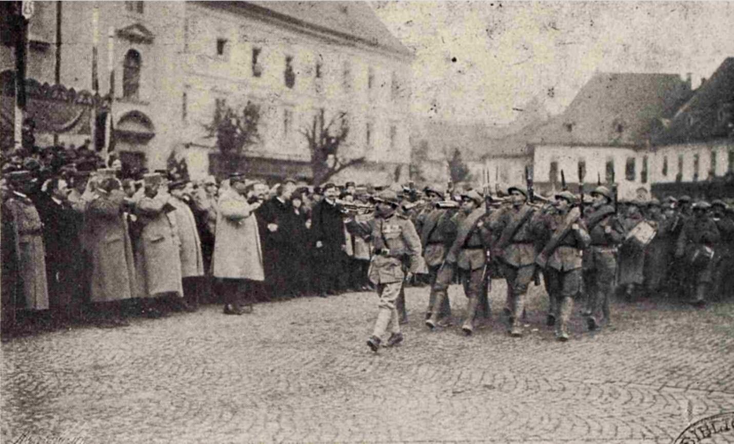 Gral Berthelot in Ardeal LUCEAFARUL 2 1919 ian 15