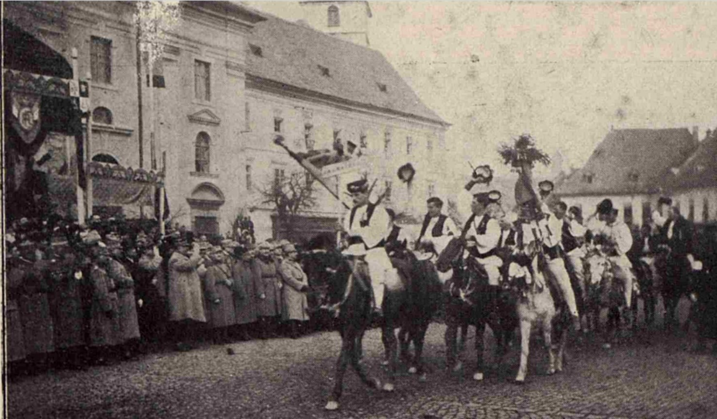 Gral Berthelot in Ardeal LUCEAFARUL 3 1919 ian 15