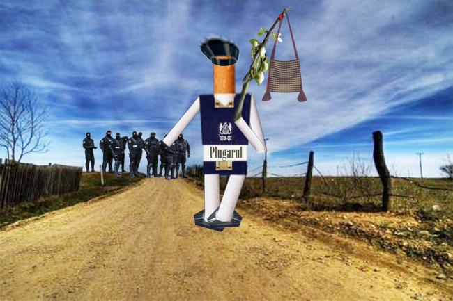 Fumătorul: Fraţi români, ei mă obligă să iau calea codrului!