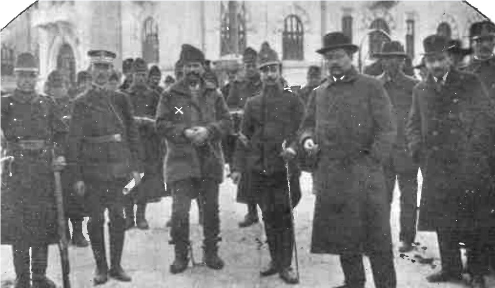Arestarea haiducului Teodor Pantelimon, în 1914