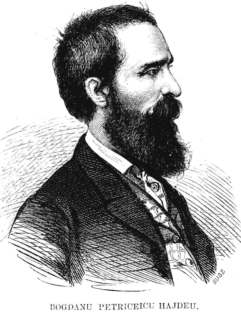 Hajdeu Bogdan Petriceicu Familia 12 din 1868