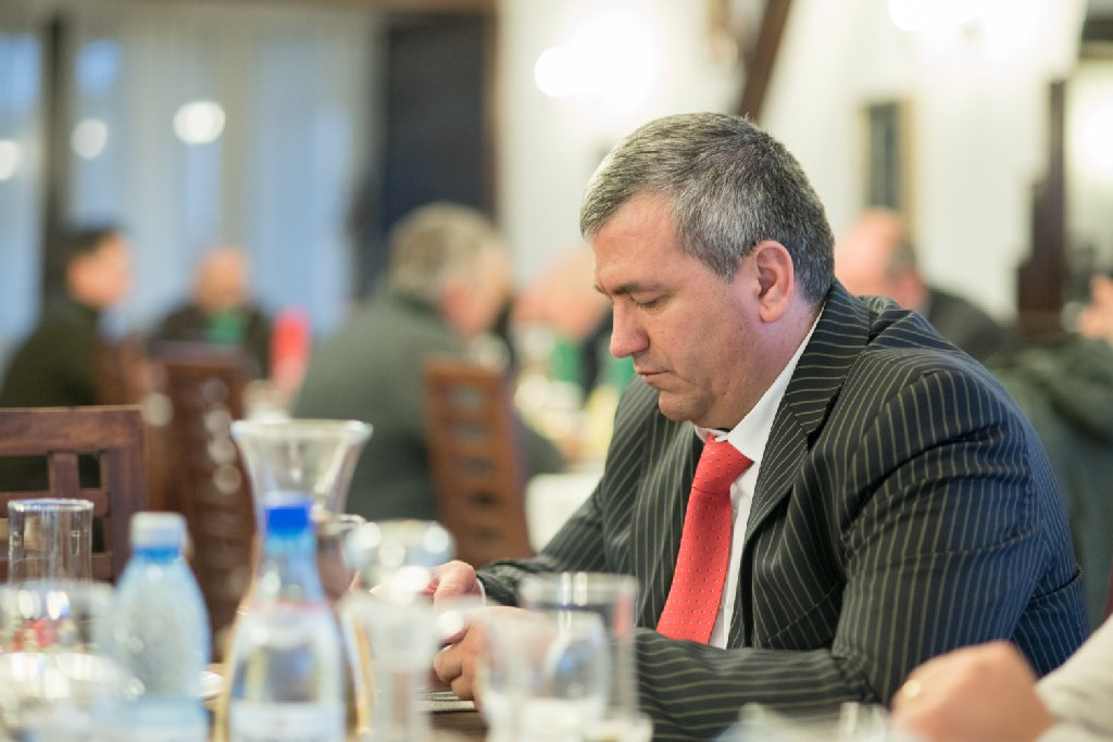 """Conducătorul"" nostru, Cornel Boicu - foto Gabriel Sandu"