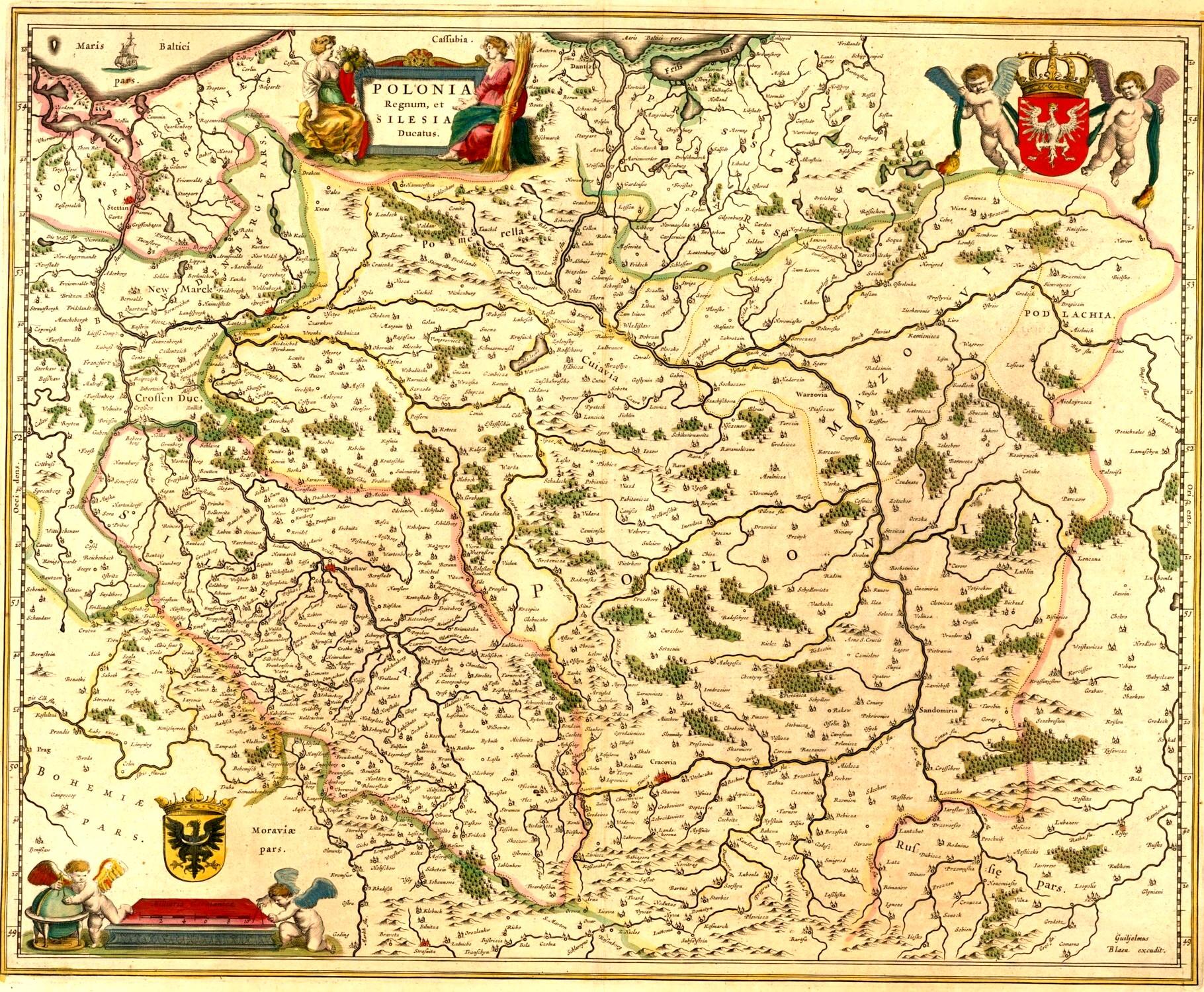 Ţările cu memorie au hărţi proprii încă din 1645