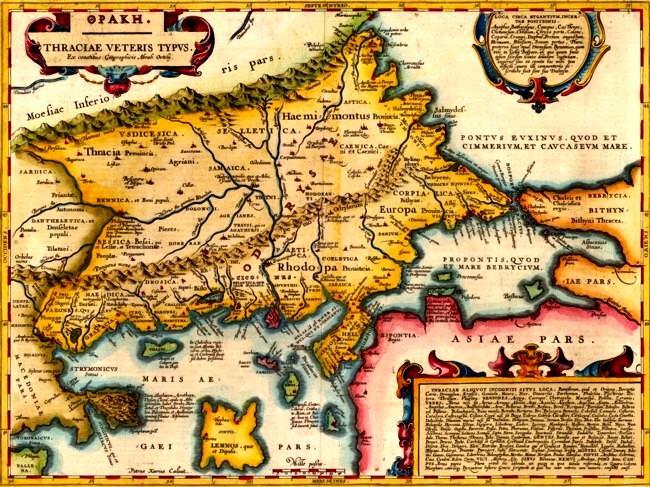 Harta lumilor cunoscute, în vremea lui Strabon