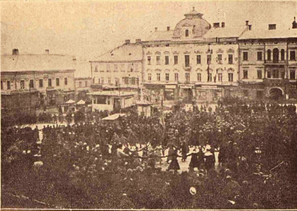 Hora Unirii, la Cernăuți
