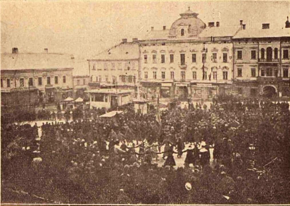 Hora Unirii, la Cernăuţi, în 28 noiembrie 1918