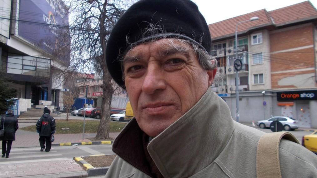 Constantin Horbovanu, unul dintre puţinii umorişti ai Bucovinei de astăzi.