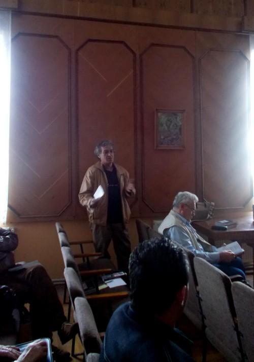 """Constantin Horbovanu, vorbind despre """"Înţelepciunea umorului"""""""