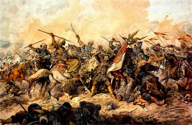 Bătălia de la Hotin, din noiembrie 1672