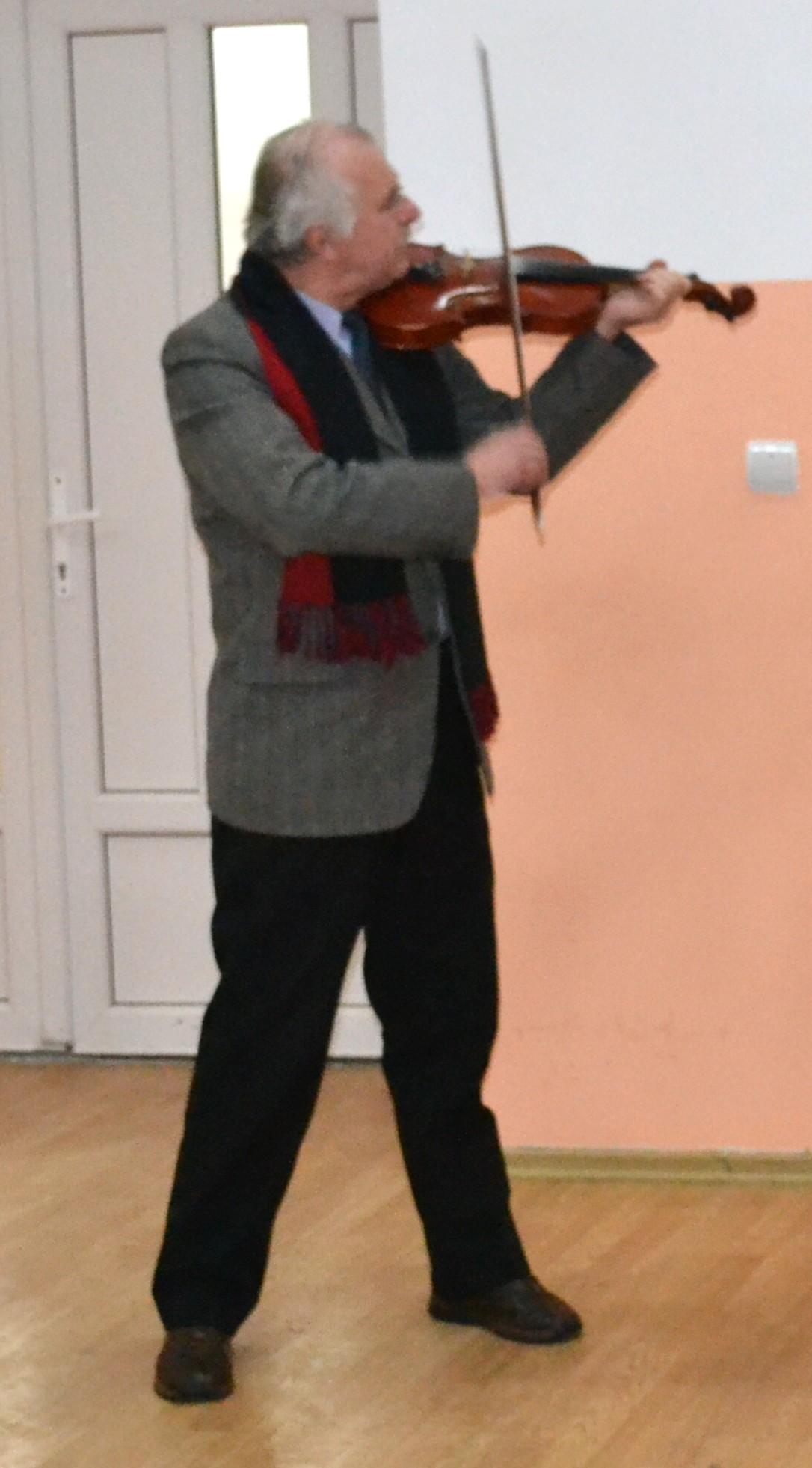 Constantin Hrehor, violonist