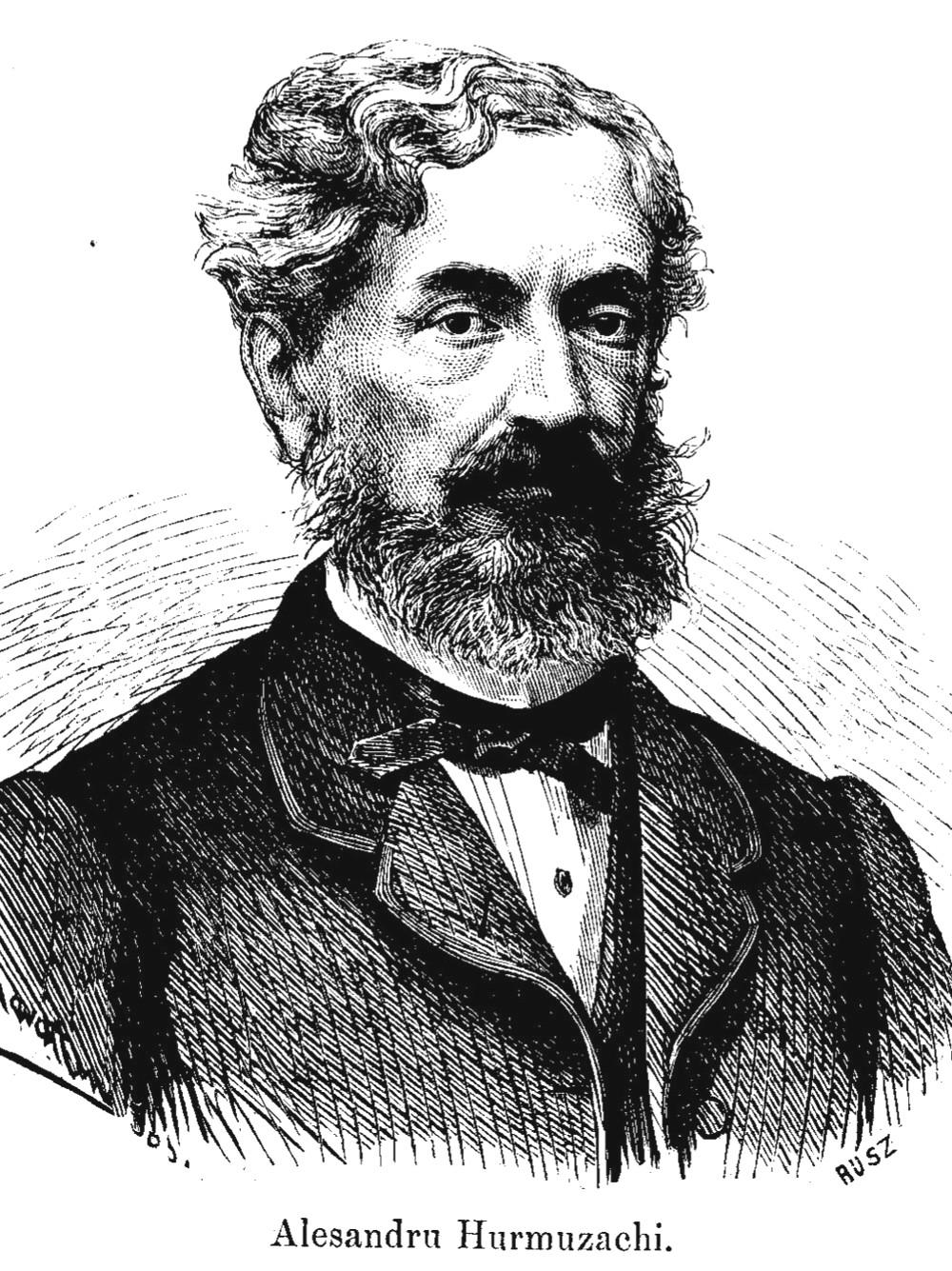 Hurmuzachi Alecsandru Familia 25 din 1866