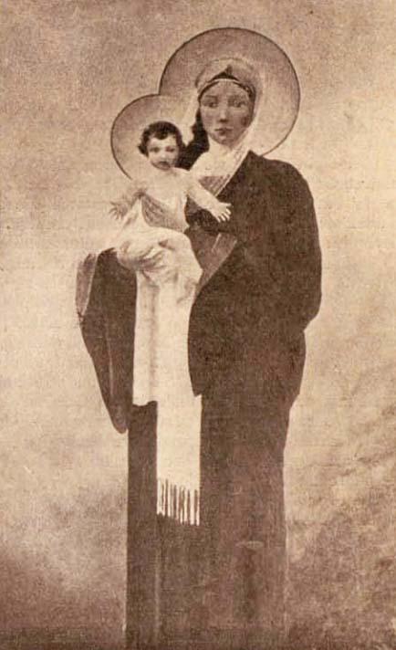 Maica Domnului huţulă - foto Krepler
