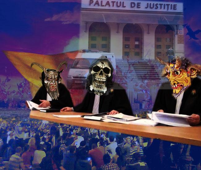 INJUSTIŢIA SUCEVEANĂ: Ai dracului români, vor să le recunoaştem drepturile pe care noi, infailibilii, şi cu miliţienii deja le-am dobândit în Justiţia noastră!