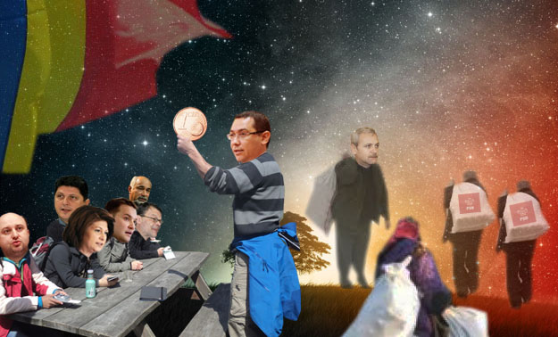 Victor Ponta: Iar pe ăsta îl vom împărţi echitabil poporului care ne-a votat!