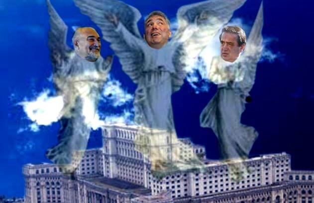 Varujan Vosganian, Adriean Videanu şi Ioan Niculae: Avem încredere în Justiţie!