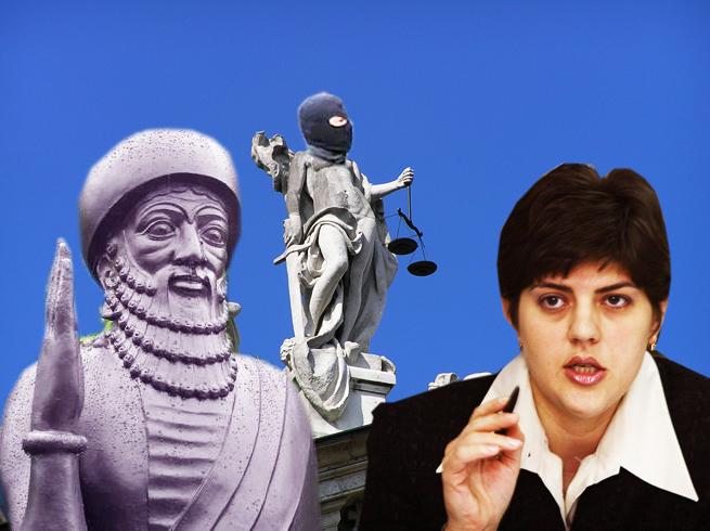 Kovesi: Ne vom autosesiza, împotrva lui Hammurapi, pentru prejudicii aduse imaginii Justiţiei!