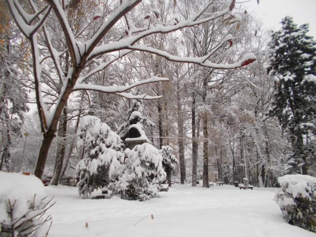 Suceava, în pragul iernii