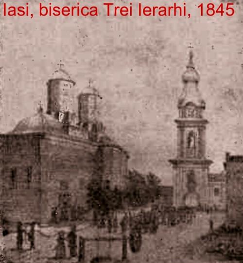 Iasi Trei Ierarhi 1845 CLA 1909 p 327