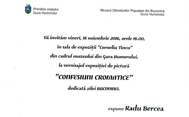 Invitatie Radz Bercea text