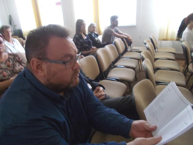 Ioan Manole la Biblioteca Bucovinei 1