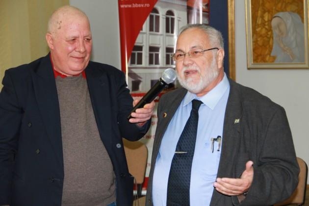 Ion Dragusanul si Menachem Falek