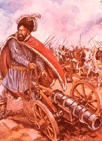 Ion Vodă, în bătălie