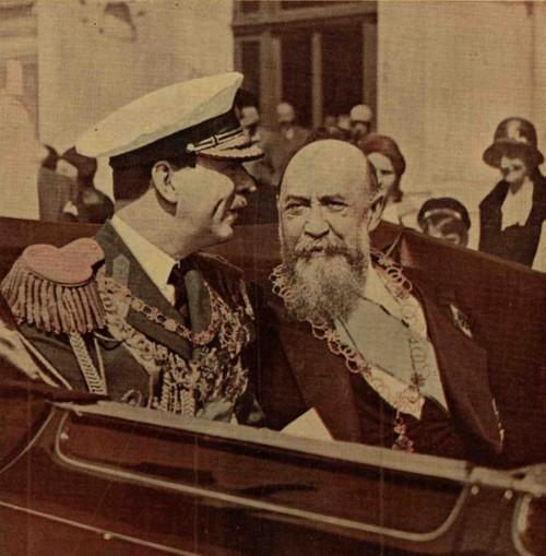 Carol al II-lea şi Nicolae Iorga