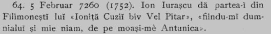 Antunica Mogâldea, bunica sau mătuşa comună pentru Iurăşceni şi Cuzeni