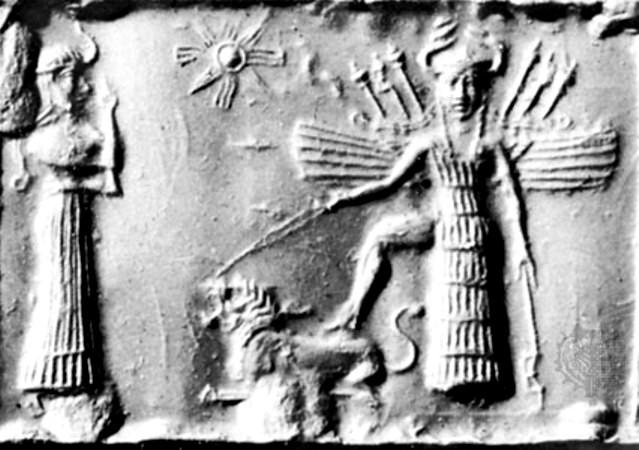 Ishtar si simbolul solar