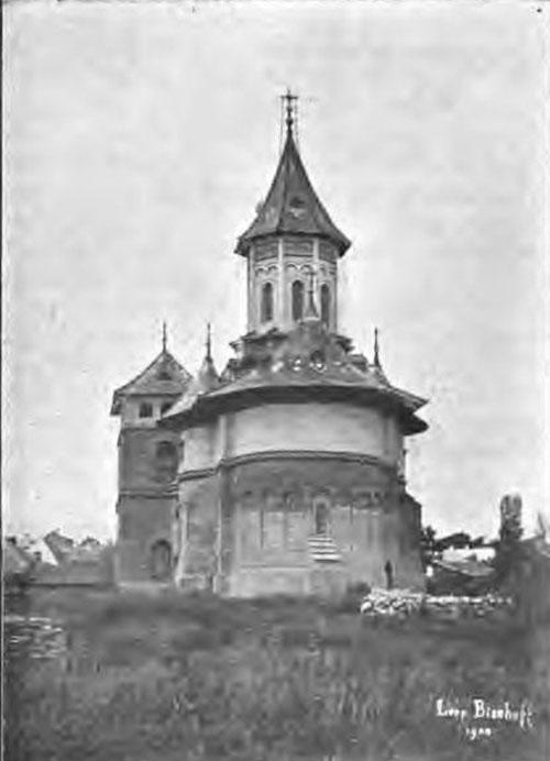 Biserica Sf. Gheorghe, proaspăt restaurată de Romstorfer