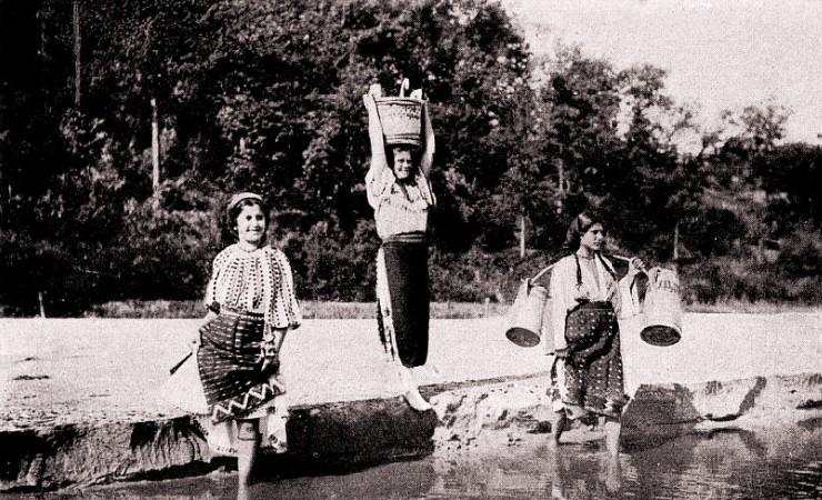 L Art et les artistes ianuarie 1917 Românce trecâd râul Colectia A Bellu