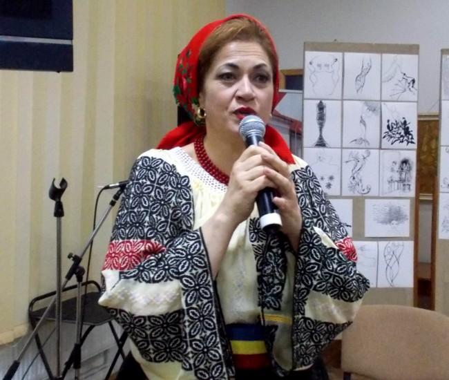 Gabriela Teişanu, cu un cântec acompaniat de orchestră