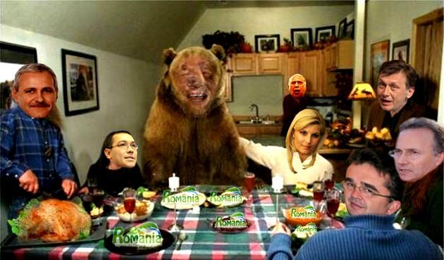 """Elena Udrea: """"Ce mare eşti ursuleţule Zeus! I-ai dus cu zăhărelul pe fraierii ăştia, până ţi-au arătat stupul cu miere!""""."""
