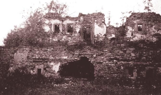 L'Art et les Artistes ianuarie 1917 Ruinele palatului lui Rares de la Vatra Moldovitei