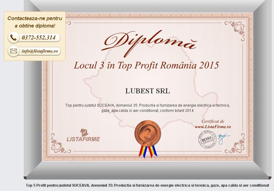 LUBEST Diploma loc III