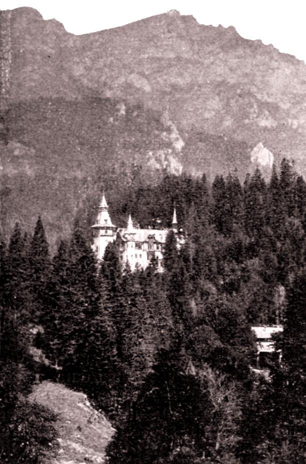 LUCEAFARUL 15 ian 1904 Castelul Peles
