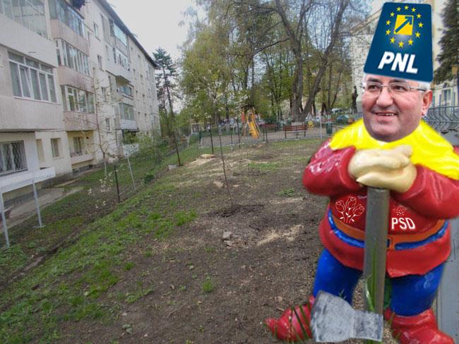 Primarul Lungu: Încă un mandat, că mai am de defrişat!