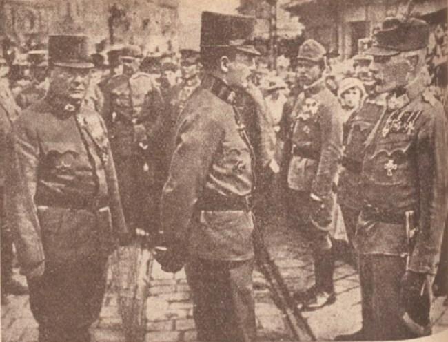 La Guerre mondiale 22 sept 1917 Împaratul si Fischer