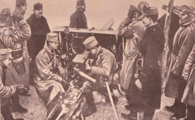 La Science et la vie Septembrie 1914 Pozitie austriaca în Bucovina