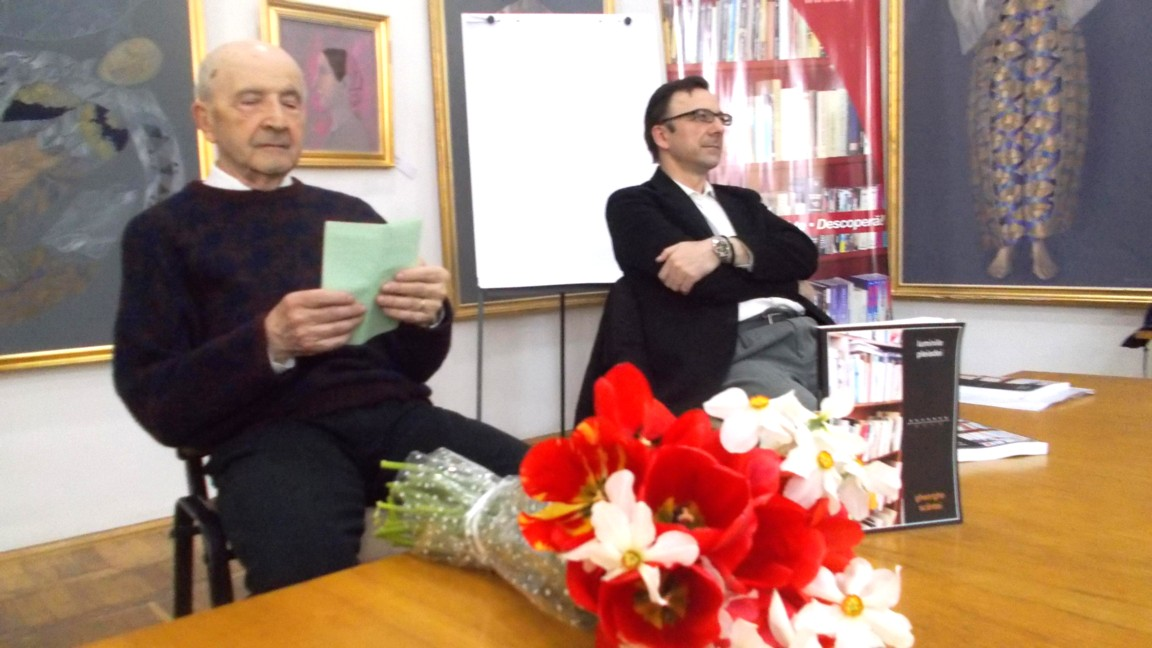 Omagierea înţelepciunii, cu Gheorghe Scântei şi Gheorghe Gabriel Cărăbuş