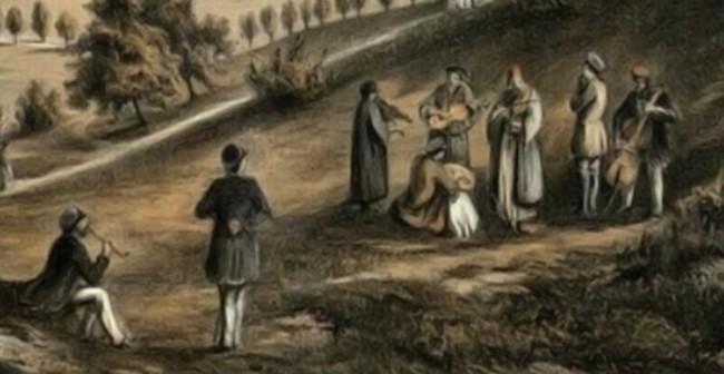 Taraful lui Neculai Picu, în 1850 - Franz Xaver Knapp